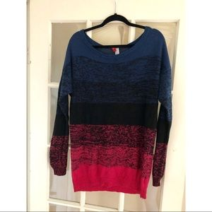 Multi color divided by H&M sweater